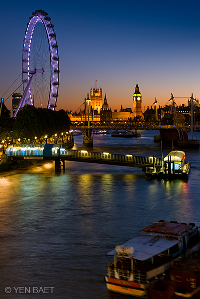 Blue Water Boats >> View of the Thames, Vertical « When It's Not Blue